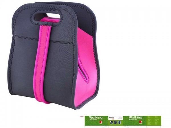 BERGNER WALKING PLEASURE Lunch-Tasche Kühltasche BG-5760-PK pink/grau