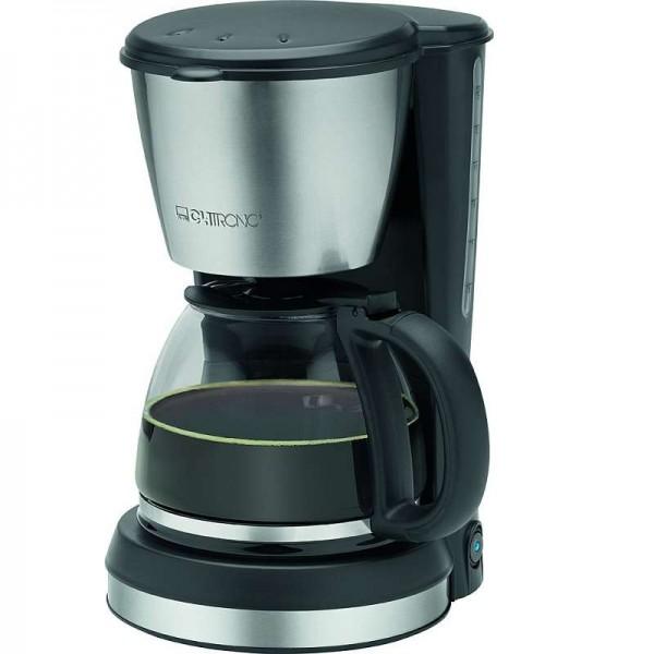 CLATRONIC Kaffeemaschine Edelstahl Glaskanne 900 W 1,5 Liter KA 3562