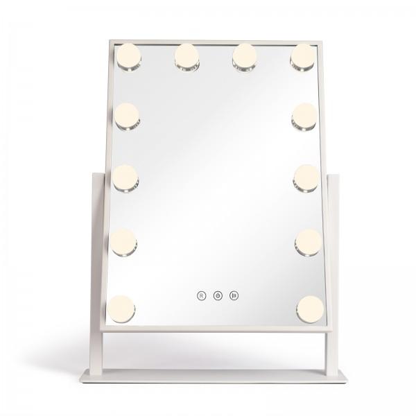 LIVOO Hollywood-Schminkspiegel beleuchteter Spiegel LED Touch DOS182