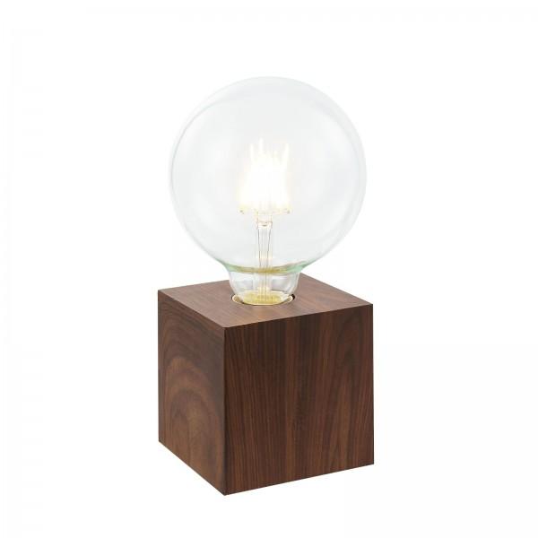 Nino Leuchten Tischleuchte Tischlampe Touch 50240147 Eiche dunkel