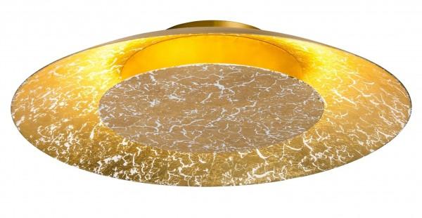 Nino Leuchten LED-Deckenleuchte Deckenlampe rund 35 cm 62141245 gold