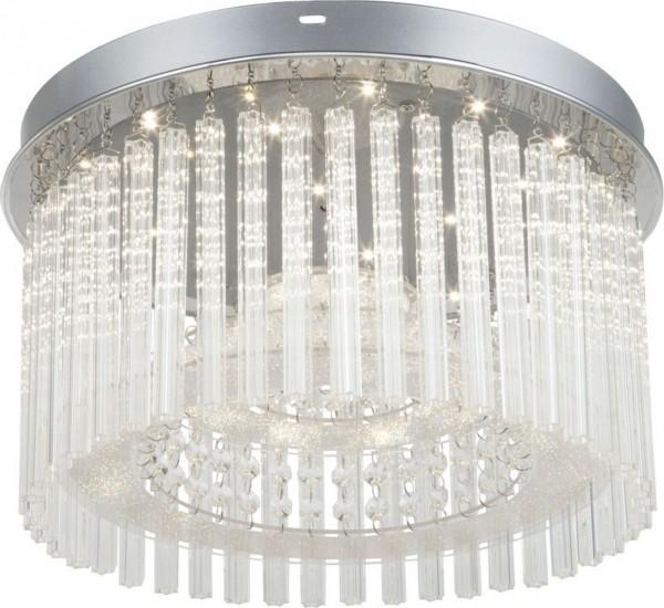 GLOBO LED Deckenlampe Deckenleuchte Flur-Leuchte Kristalle 68568-18