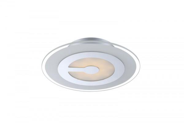 GLOBO LED Deckenlampe Deckenleuchte Leuchte Lampe Metall chrom 41698-3