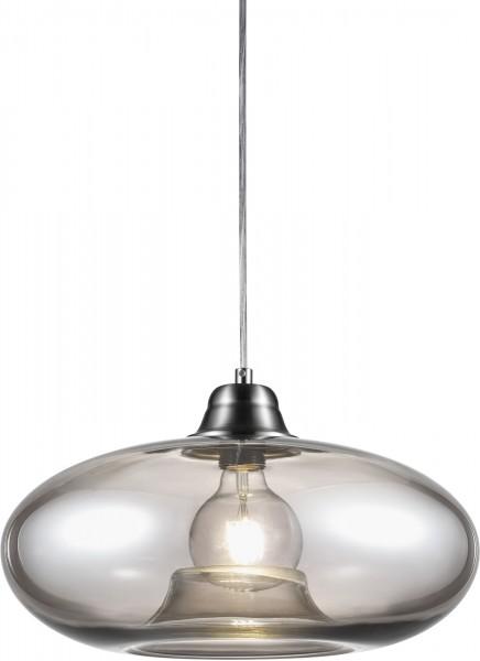Nino Leuchten Pendelleuchte Hängeleuchte Glas Design 30040102 rauch