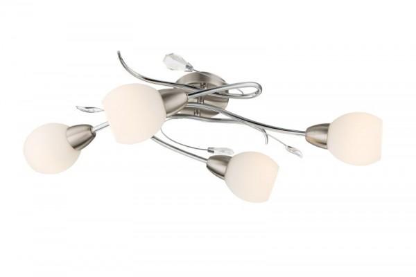 GLOBO Lilly Deckenleuchte Deckenbeleuchtung Glas Deckenlampe 60209-4