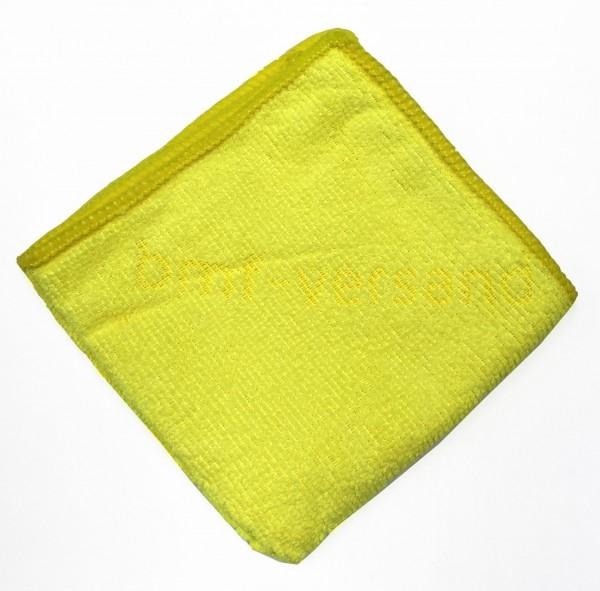 Mikrofasertuch mit Logo Reinigungstuch Lappen Pflegetuch Putztuch 25 x 25 cm