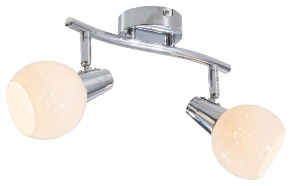 Nino Leuchten LED-Deckenleuchte Deckenlampe Diamond 2-flammig 81130206