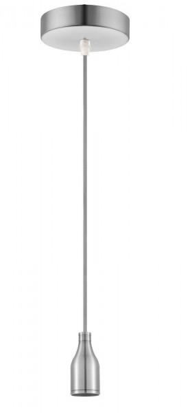 GLOBO Hängeleuchte Hängelampe Industrie-Stil A34 Stahl matt