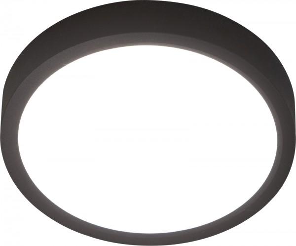 Nino Leuchten Deckenleuchte dimmbar rund 23 cm 61032308 schwarz