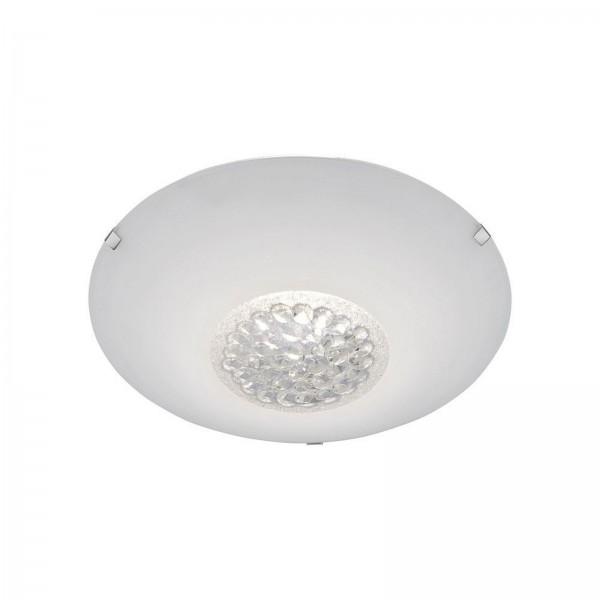 LeuchtenDirekt Deckenleuchte LED dimmbar Glas rund 25 cm 14319-16