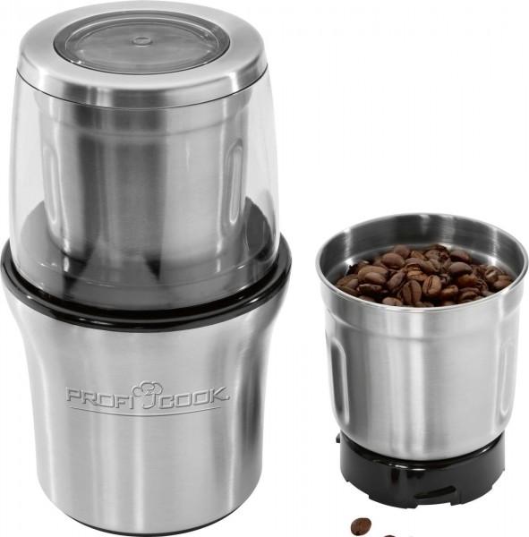 ProfiCook Kaffeeschlagwerk elektrisch Gewürzhacker PC-KSW 1021
