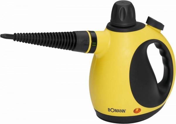 BOMANN Dampfreiniger Handstaubsauger 3,5 bar DR 907 gelb-schwarz