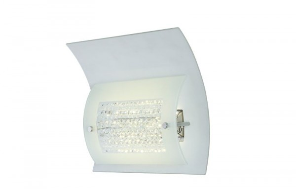 GLOBO LED Wandlampe Wandleuchte Leuchte Lampe Metall Glas 46641-9W