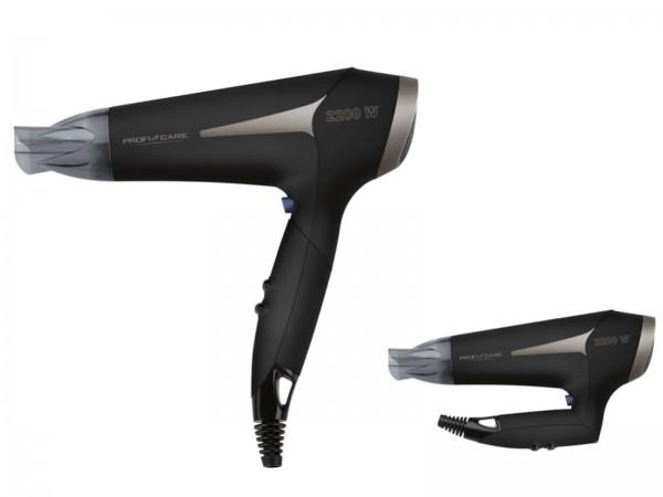 PROFICARE Haartrockner Fön Ionic 2200 Watt Klappgriff HT 3046 schwarz