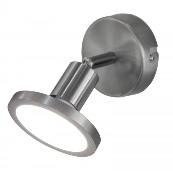 Nino Leuchten Wandleuchte Wandlampe GU10 Nickel matt 81400101