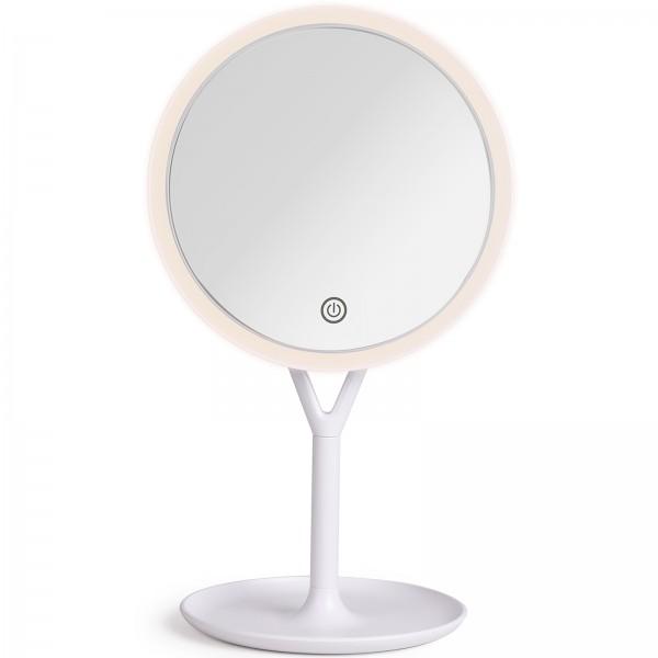 LIVOO Schminkspiegel beleuchteter Spiegel LED USB-Ladefunktion DOS183