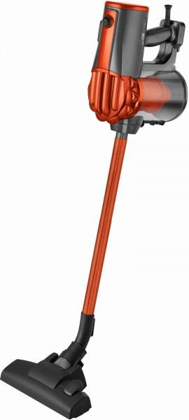 Clatronic Hand- & Bodenstaubsauger Eco-Cyclon beutellos BS 1306 orange