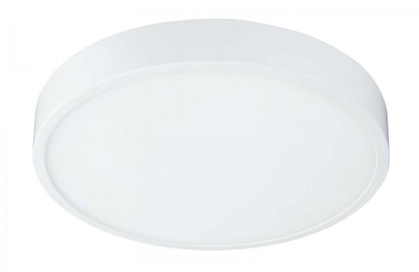 GLOBO ARCHIMEDES Deckenlampe Deckenleuchte rund weiß 22 cm 12364-30