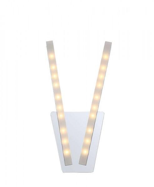 GLOBO LED Wandlampe Wandleuchte Flur-Lampe Stäbe satiniert 67057-2W