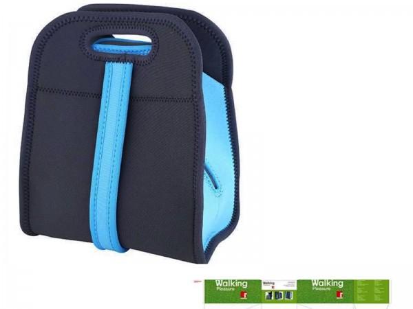 BERGNER WALKING PLEASURE Lunch-Tasche Kühltasche BG-5760-BL blau-grau