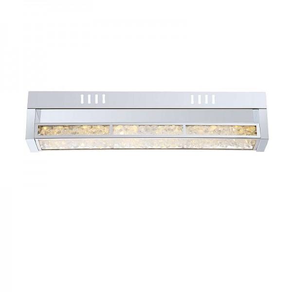 GLOBO LED Wandlampe Wandleuchte Wohnzimmer-Lampe Kristalle 49337-12