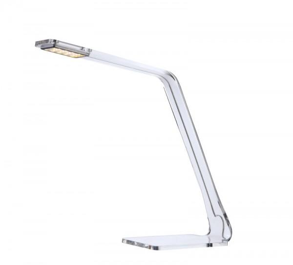 GLOBO LED Schreibtischlampe Tischleuchte Leuchte Acryl klar 58146