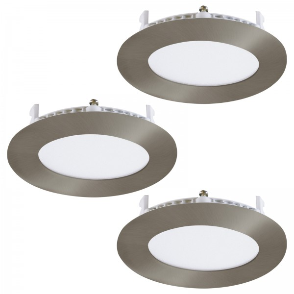 EGLO Einbauleuchten Unterputzleuchten rund LED Metallguss 34013
