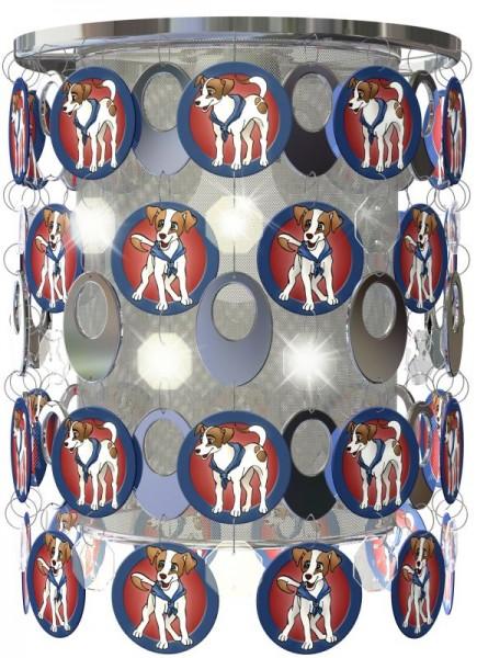 ESTO Fantasia Lampenschirm Hunde Hängeleuchte Kinder-Lampe 950003