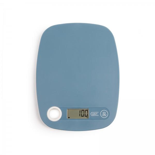 LIVOO Digitalwaage Küchenwaage Tara LCD-Display DOM354BS blau