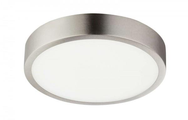 GLOBO VITOS Deckenleuchte Deckenlampe rund Aluminium 14,5 cm 12366-15