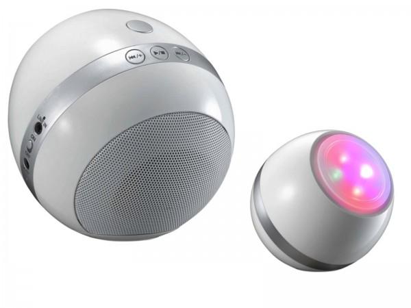 ESTO SOUND Tischleuchte RGB-LED Bluetooth-Lautsprecher 722023