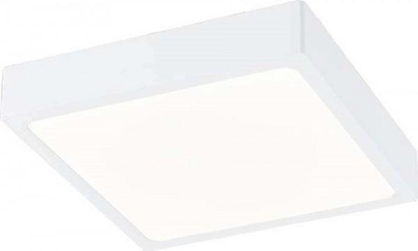 GLOBO ALENA Deckenleuchte dimmbar Aluminiumdruckguss weiß 17cm 12365-22