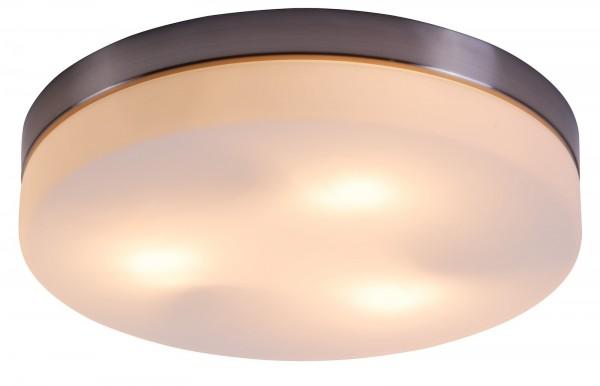 Globo Deckenleuchte Deckenlampe rund Opalglas Wohnzimmer Büro 48403