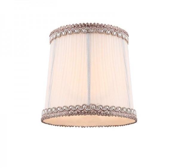 GLOBO Stoffschirm Lampen-Schirm Wandleuchte weiß Stoff 11,5 cm 64111G