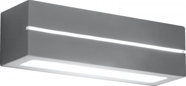 GLOBO Wandleuchte Wandlampe rechteckig bemalbar E27 60 W Keramik 7861