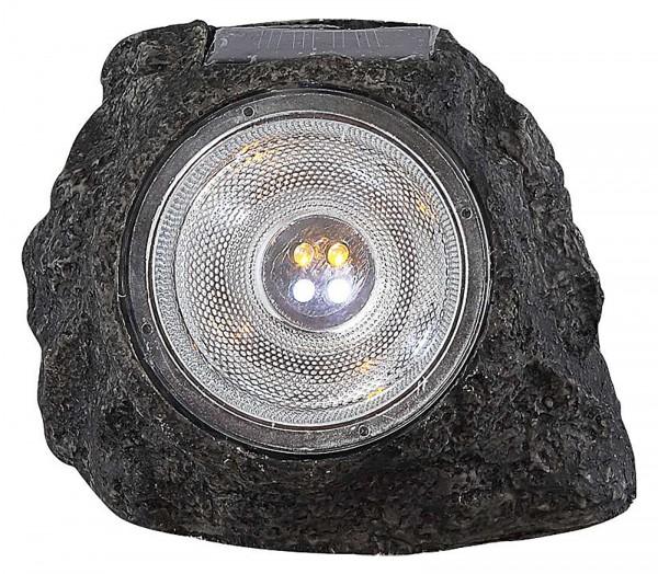 GLOBO LED Solarleuchte Solar-Lampe Leuchte Garten Stein Deko 3302