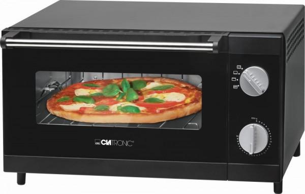 CLATRONIC Mini-Backofen Pizza-Ofen 12 L Grill Miniofen 1000 W MPO 3520