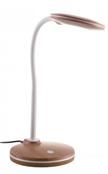 Nino Leuchten Tischlampe Schreibtischleuchte LED 52290146 Holzoptik