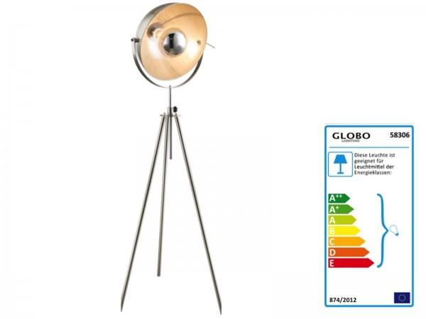 GLOBO NOSY Stehleuchte höhenverstellbar Stehlampe Bodenlampe 58306