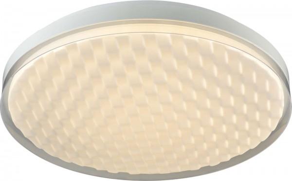 ESTO OLIVER Deckenleuchte Deckenlampe rund 50 cm 3D-Effekt 746003