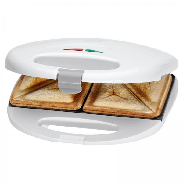CLATRONIC 2-Scheiben Sandwich-Toaster 750 W Sandwichmaker ST 3477 weiß
