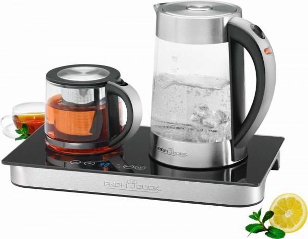 PROFICOOK 3-in-1 Tee- Kaffeestation Wasserkocher PC-TKS 1056