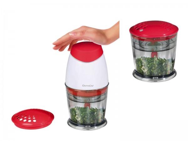 DomoClip Multi-Zerkleinerer Zerhacker Küchengerät DOP118R rot