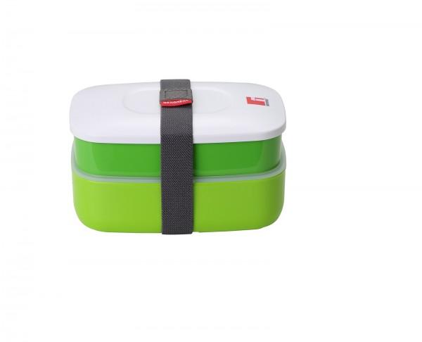BERGNER WALKING PLEASURE Lunchbox Besteckfach Grün 1,2L BG-5752-GR