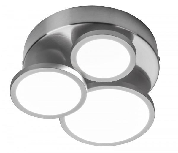 Nino Leuchten Deckenleuchte Deckenlampe 3-flammig dimmbar 61400301