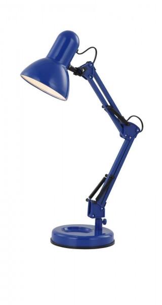 Globo FAMOUS Tischleuchte Tischlampe Schreibtischleuchte 24883 blau
