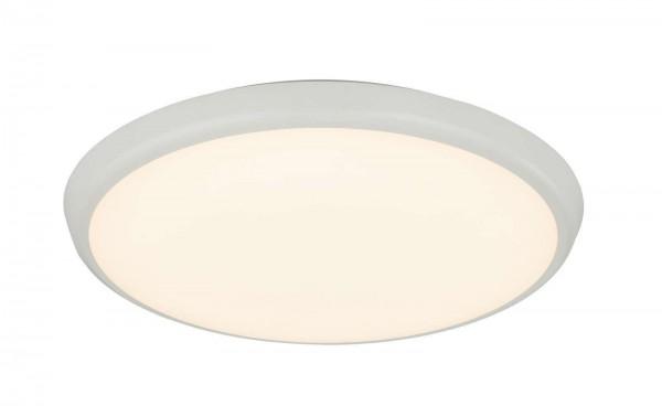 GLOBO AEMON Deckenleuchte Deckenlampe rund weiß 40 cm 32109