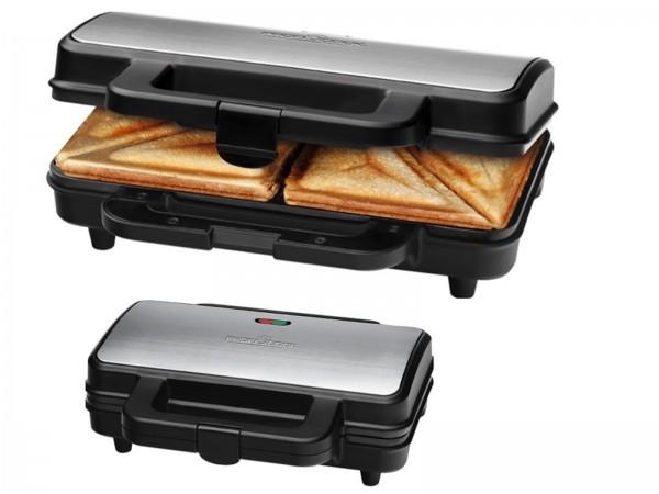 PROFICOOK Sandwichtoaster XXL Sandwich Maker Toaster PC-ST 1092