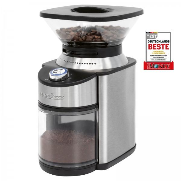 PROFICOOK elektrische Kaffeemühle 16 Mahlgrade 200 Watt PC-EKM 1205