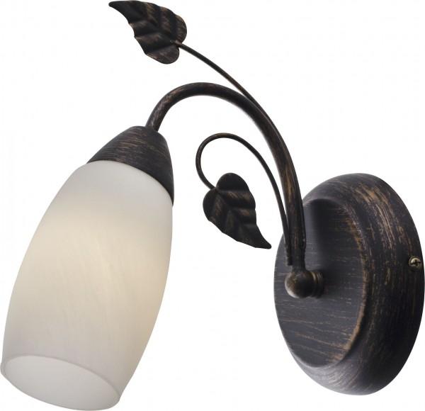 Nino Leuchten Wandleuchte Wandlampe Landhausstil Alabasterglas 20800123